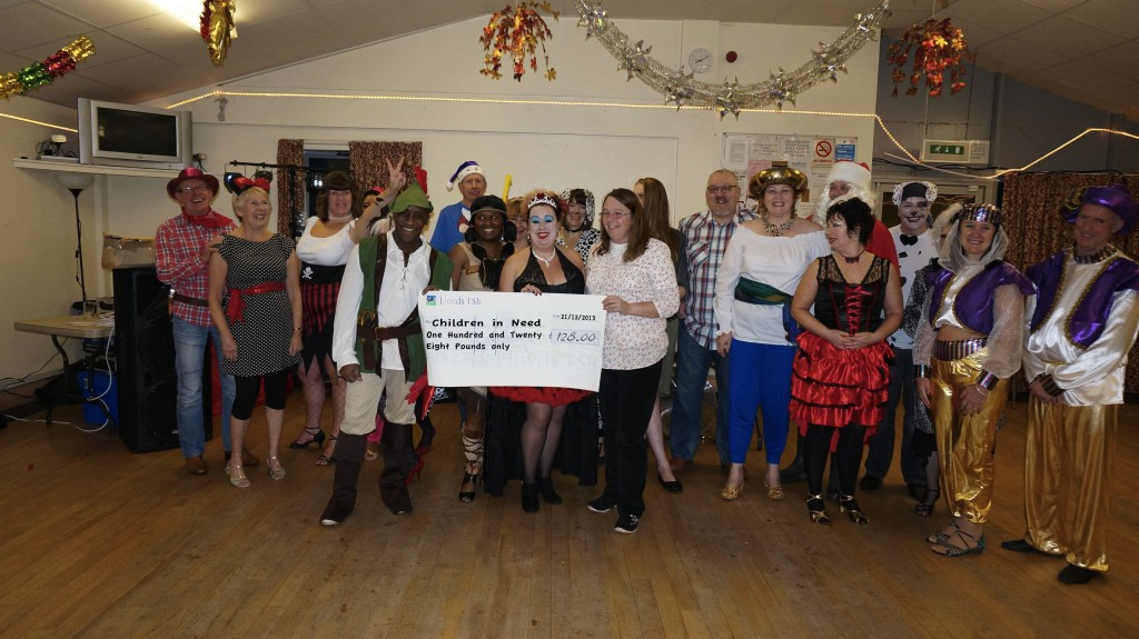 Children in Need Cheque