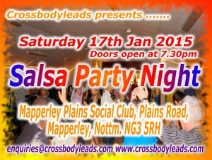 January 17th - Party Night